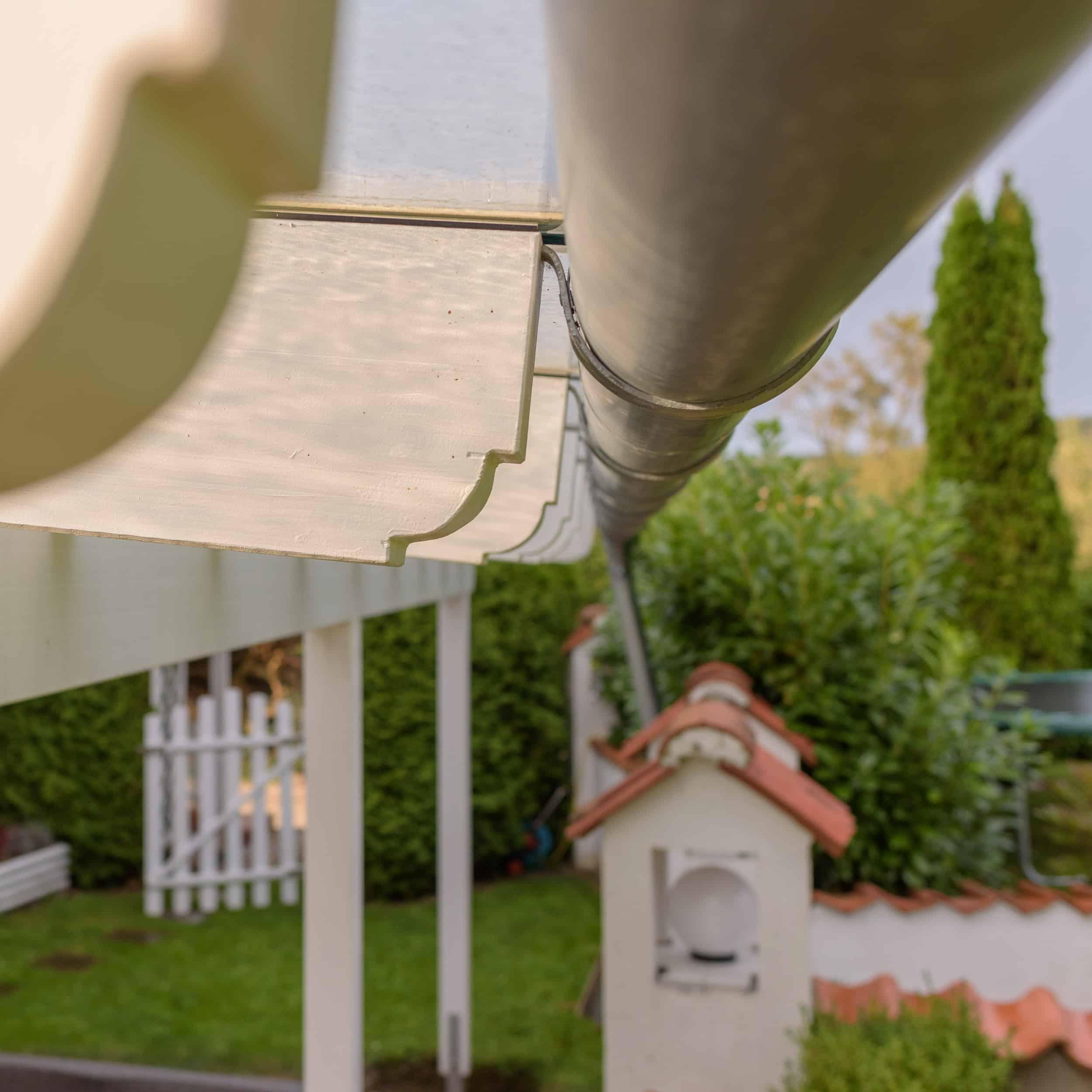 Tischlerei Udo Palte - Überdachung einer großen Terrasse